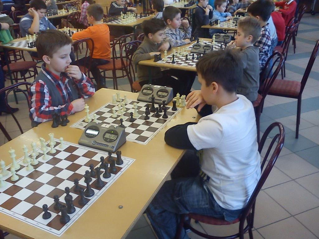 Az IQ sikere a megyei diák sakkolimpián